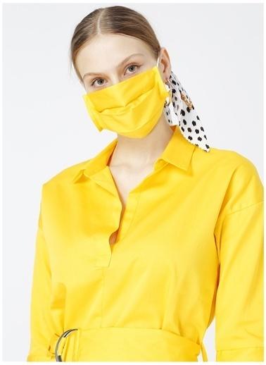 Fabrika Fabrika Divine Sarı Kadın Elbise Sarı